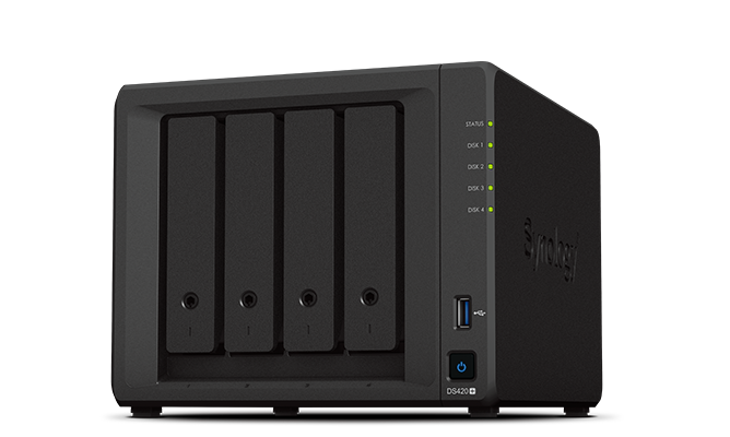 Synology ds420+ is lower cost nas that will work great for a plex media server.