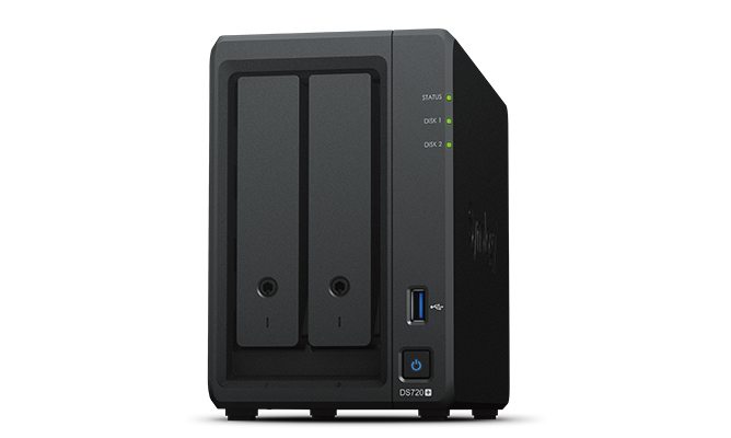 Synology DS720+ is the most powerful 2-bay NAS offered by synology. If you need a PLEX media server this is the NAS for you.