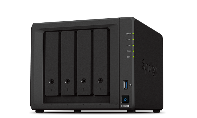 Synology ds920+ is best synology nas for use as a plex media server - cheaper option is the 2 bay ds720+