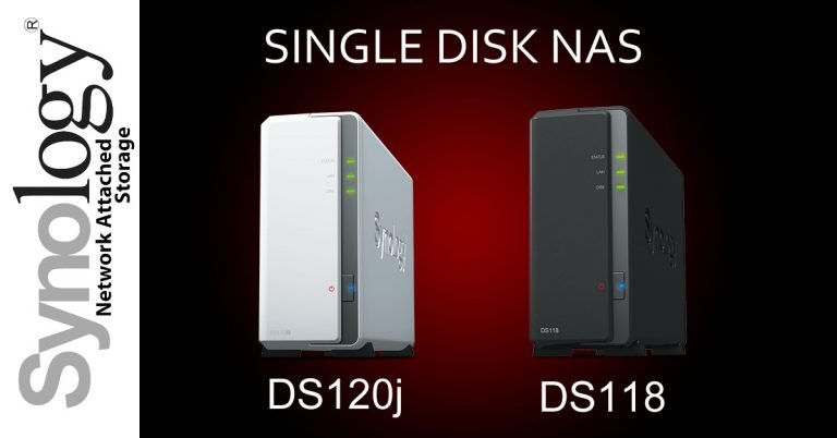 Synology DiskStation DS120j vs. DS118 (1 Disk Bay)