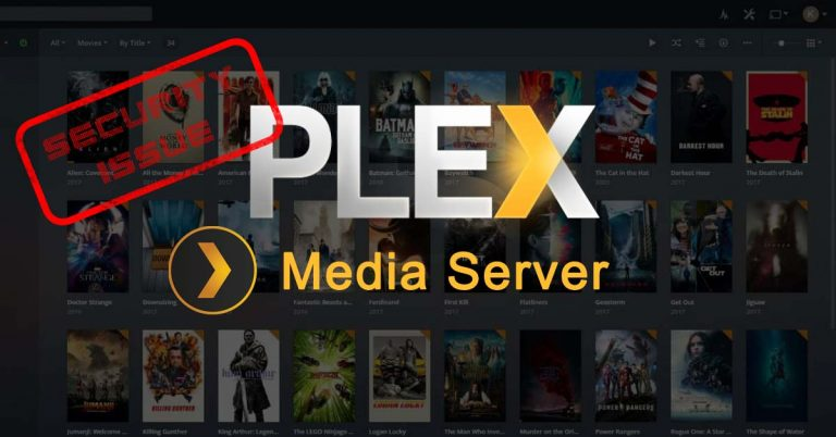 Plex Media Server – Security Issue