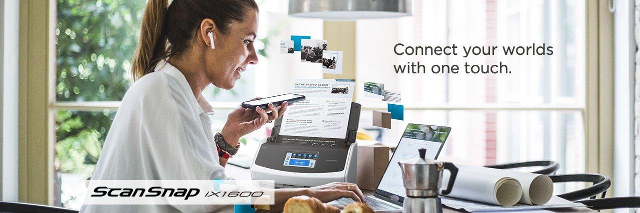 Fujitsu iX1600 ScanSnap Easy to Use